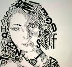 Text Self-Portrait