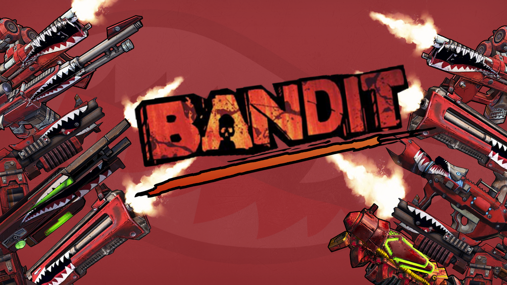 Wallpaper Bandit Weapon -Borderlands 2 By Candy-C4n3 On