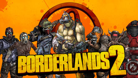 Borderlands Bandits Wallpaper by Candy-C4n3