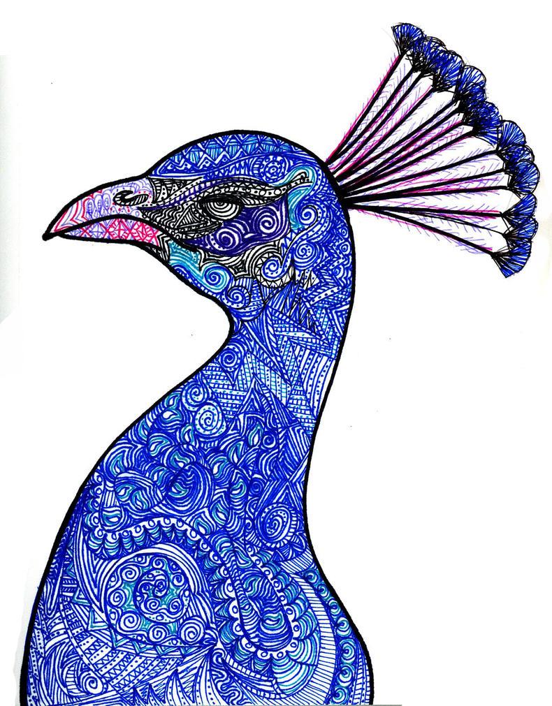 peacock by okbrightstar on deviantart