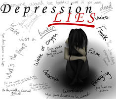 Depression Lies by okbrightstar