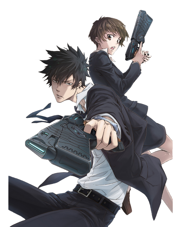 Psycho Pass Render by kinoex1