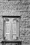 Old wooden window