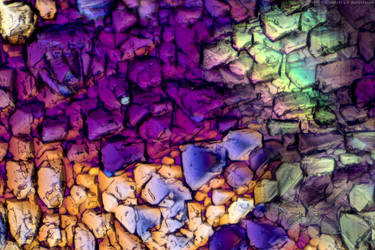 Colorful crystals