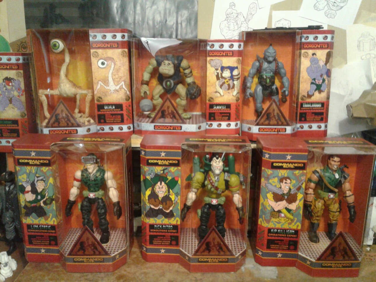 3 gorgonites 3 commandos from small soldiers by jok3r0314 ...