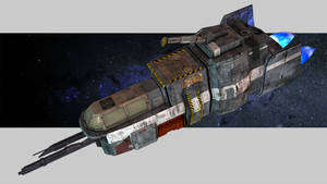 Outer Empires mining ship