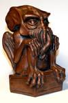 Copper Cthulhu Statue