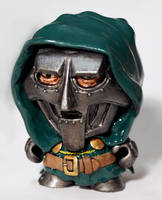 Dr Doom Munny by DrMonkeyface