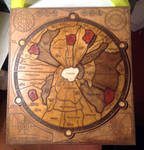 Dune Boardgame wooden board