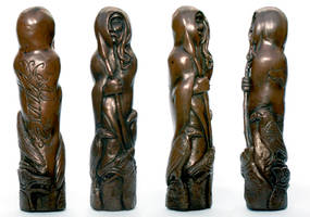 Norse god Odin Sculpture