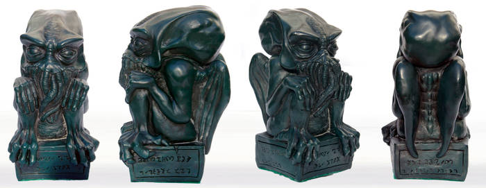 Green Cthulhu casting