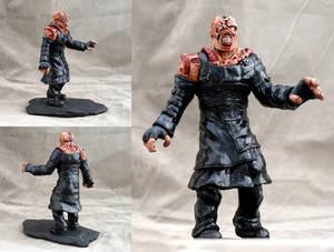 Resident Evil Nemesis T type sculpture