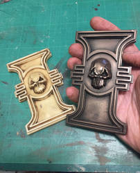 Warhammer 40k Imperial Inquisition rosettes