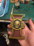 Painted Warhammer 40k Imperial Inquisition Rosette