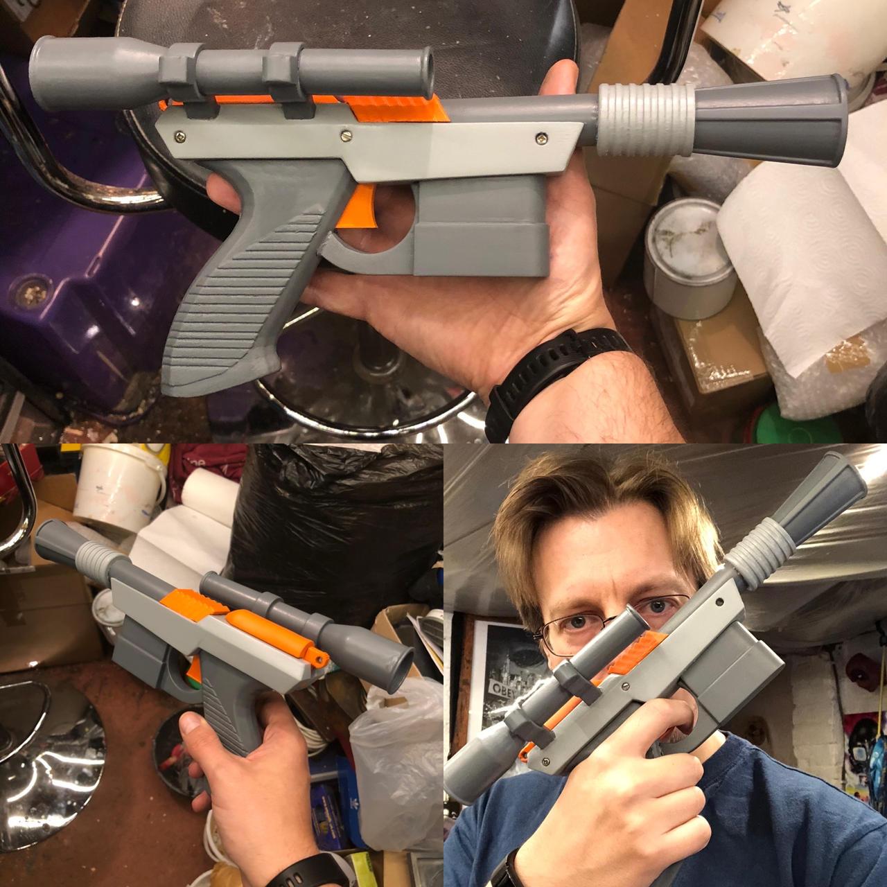 Star Wars - Hantendo blaster - Nintendo + DL-44