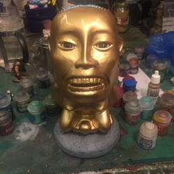 Indiana Jones golden fertility idol