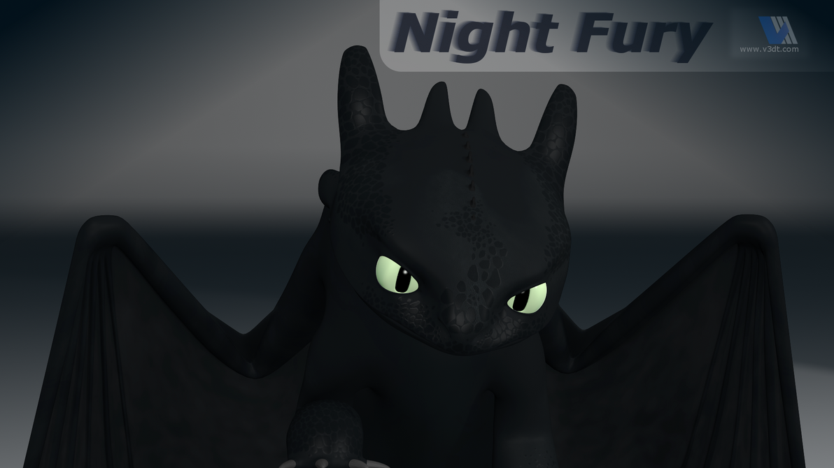 Night fury dragon by v3dt on deviantart - Fury nocturne ...