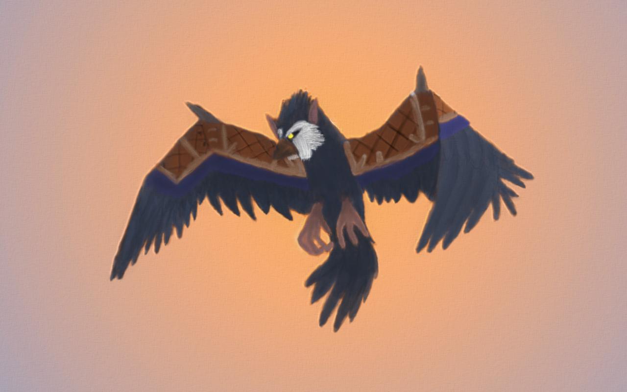 WoW   Druid - Bird Form