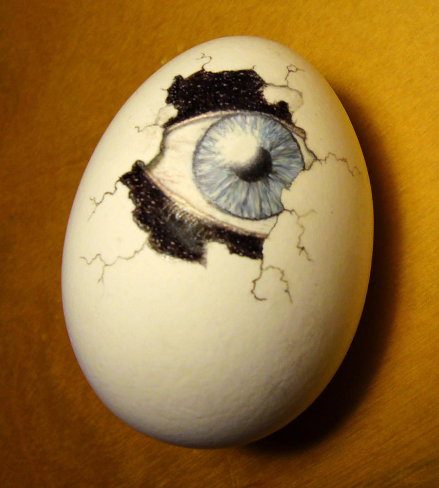 surreal easter egg by - photo #4