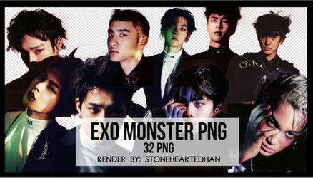 EXO Monster PNG Pack