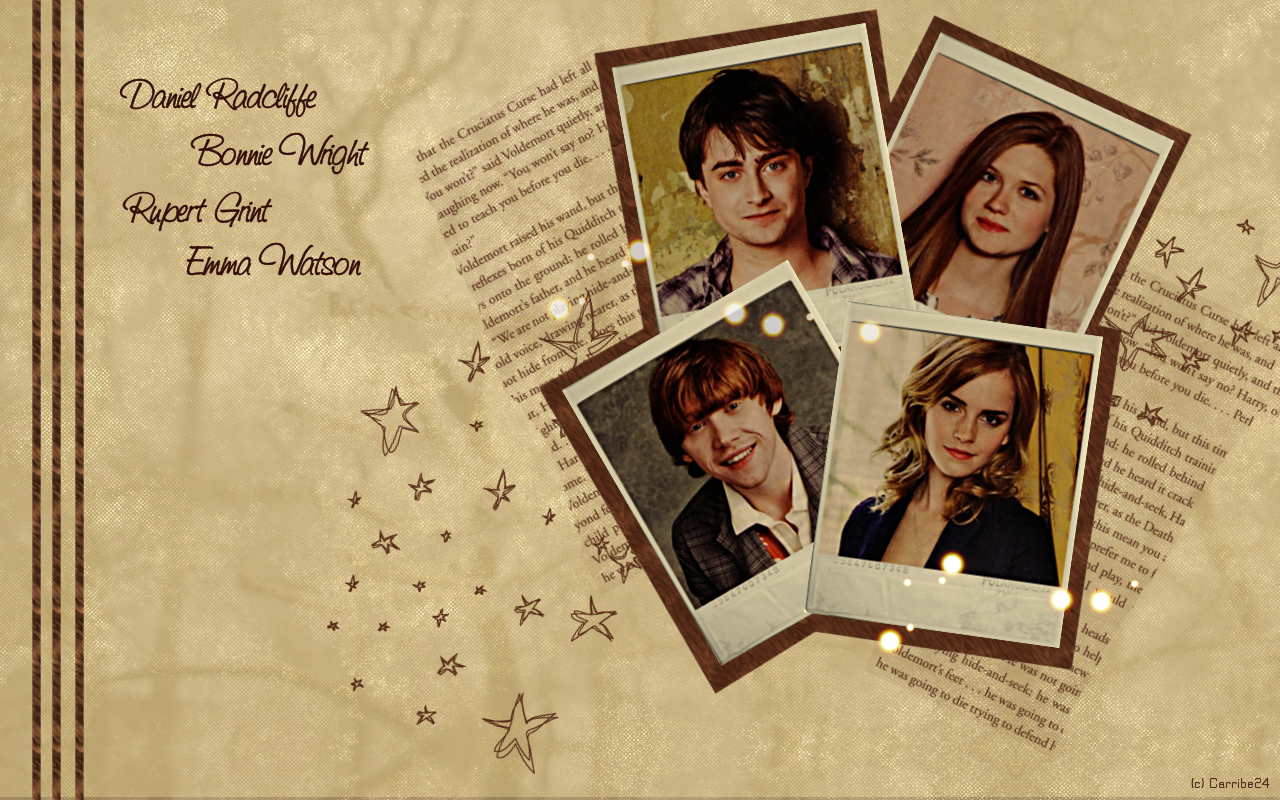 Must see Wallpaper Harry Potter Artwork - harry_potter_wallpaper_by_carribe24  Best Photo Reference_1003150.png
