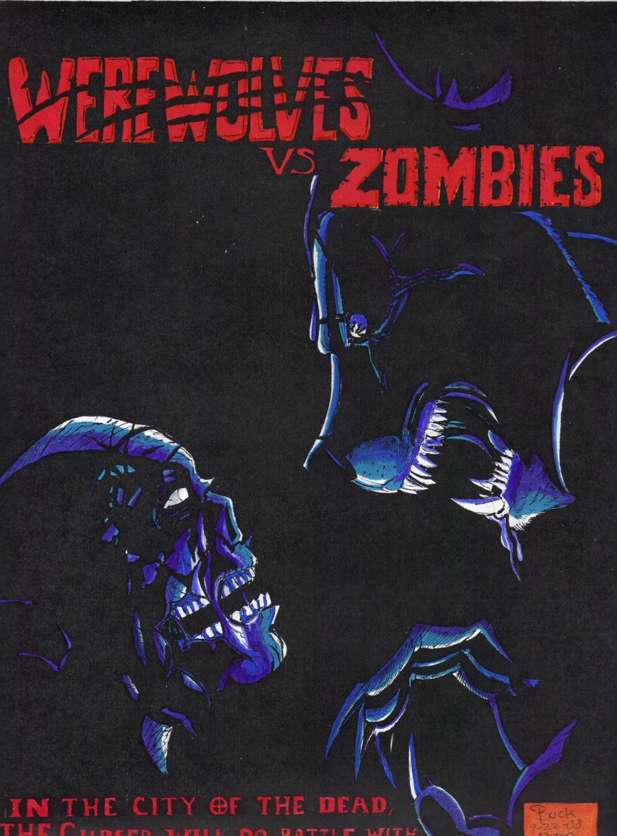 Werewolves vs Zombies ... Zombie Vs Vampire Vs Werewolf