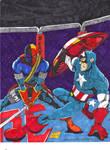 Captain America vs Deathstroke