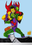 THE CREEPER vs GREEN GOBLIN