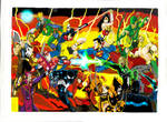 JLA vs DARK AVENGERS full edit