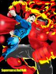 SUPERMAN vs RED HULK