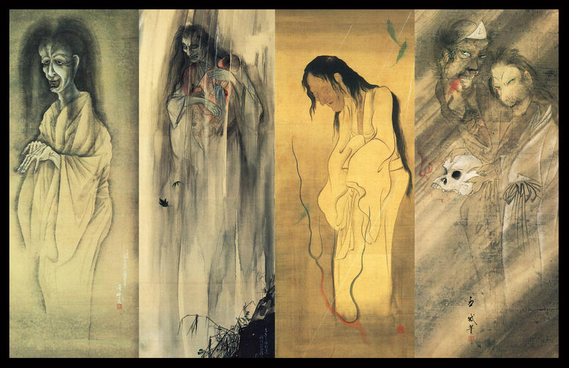Japanese Yokai Ghost Scrolls by ColinMartinPWherman on ...