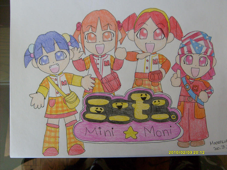 Mini Moni by Meekee-chan-desu