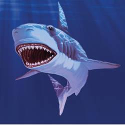 Shark art by derrickfish