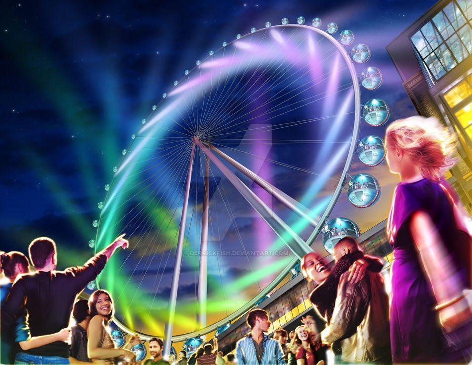 The Vegas Eye - Key Art by derrickfish