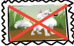 Anti arctic wolf stamp. by Foxgroove