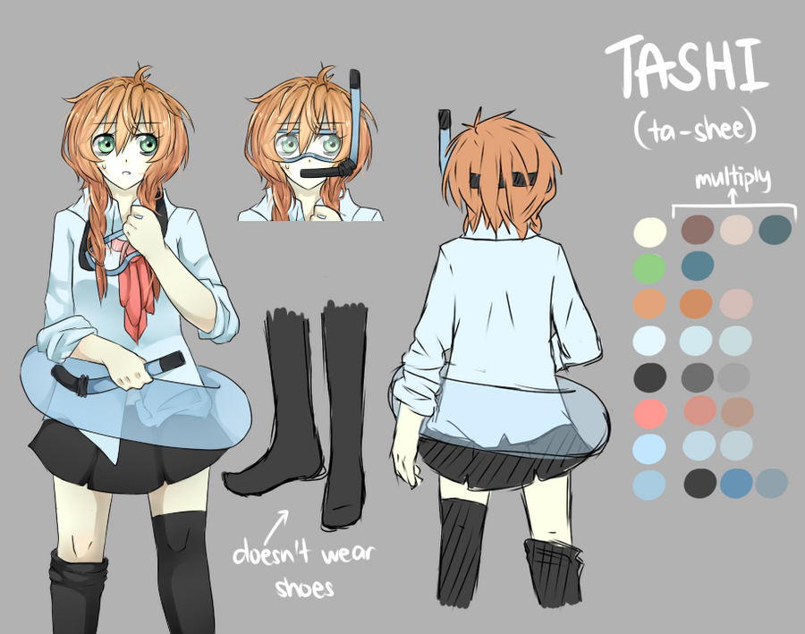 Tashi Character Reference Sheet I Think By Cowpig On DeviantArt