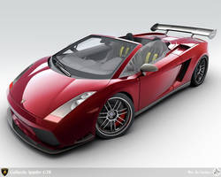 Modified Lamborghini Gallardo by AfroAfroguy