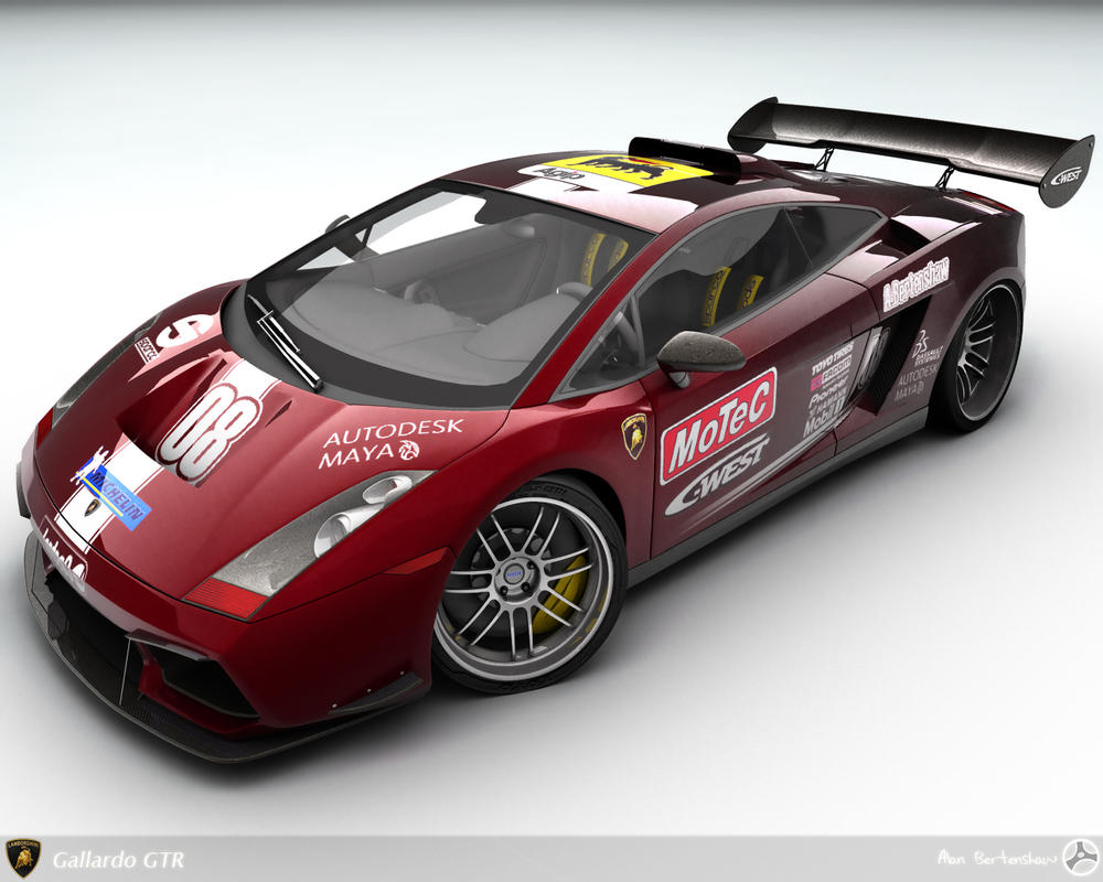Gallardo GTR Race-spec by AfroAfroguy
