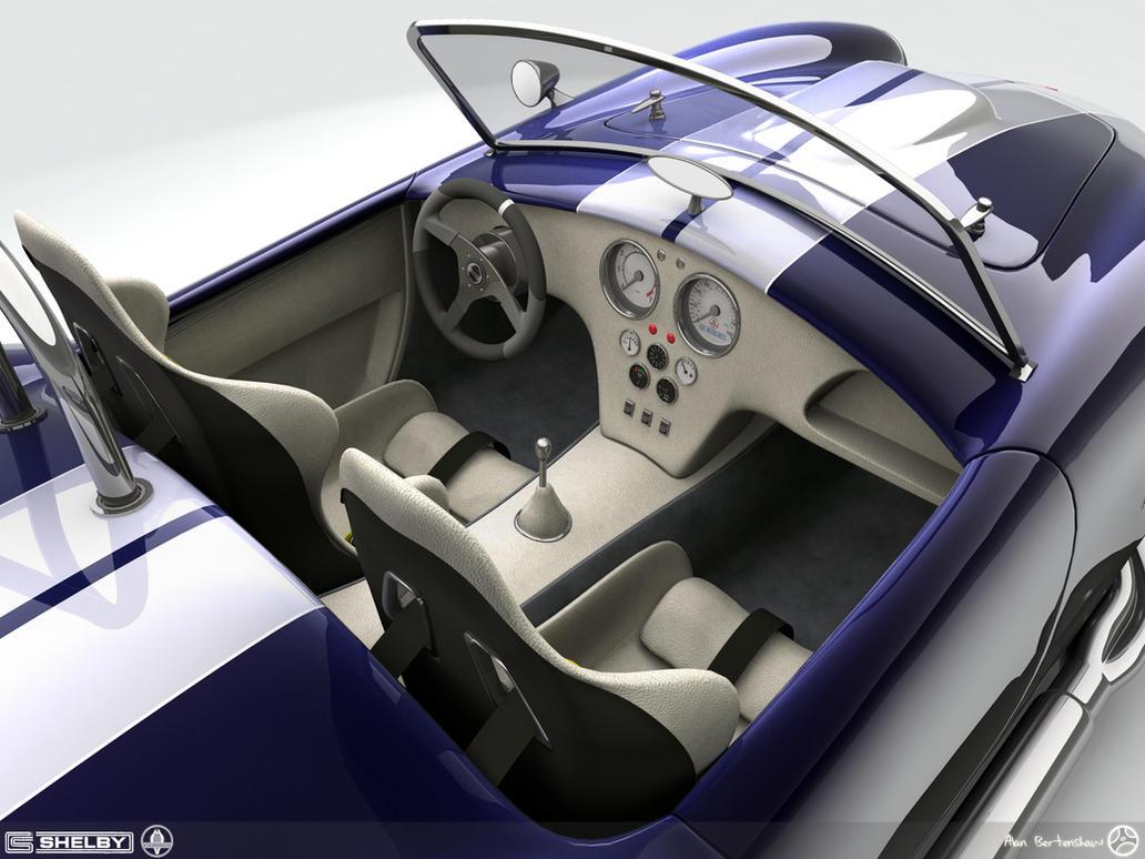 Shelby Cobra Interior by