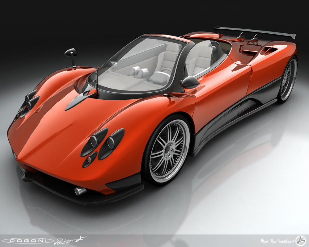 Pagani Zonda re-work by AfroAfroguy