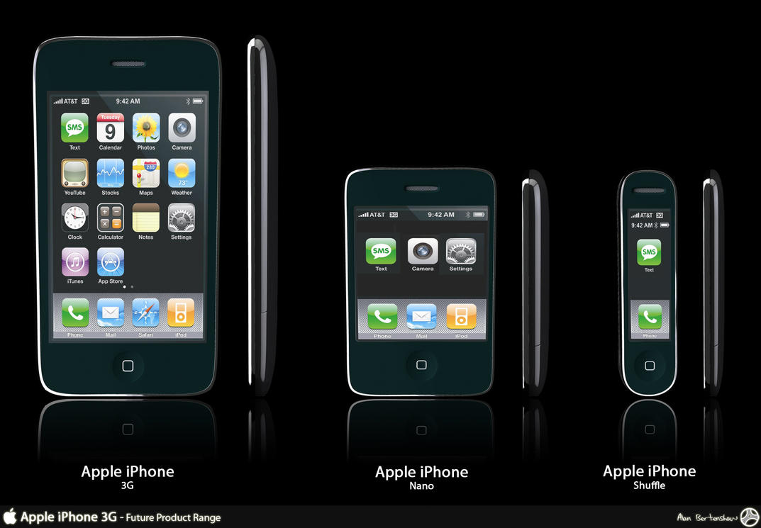 iPhone Product Range Advert by AfroAfroguy on DeviantArt