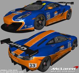 McLaren MP4 12C Gulf WIP