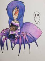 Arachne oc  by sonic645