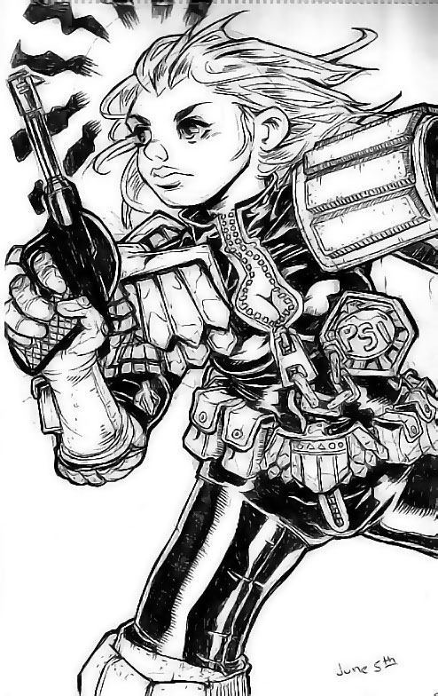 judge anderson by punchyninja