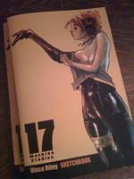 APE 2010 Sketchbook cover by punchyninja