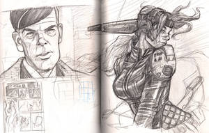 raw sketches by punchyninja