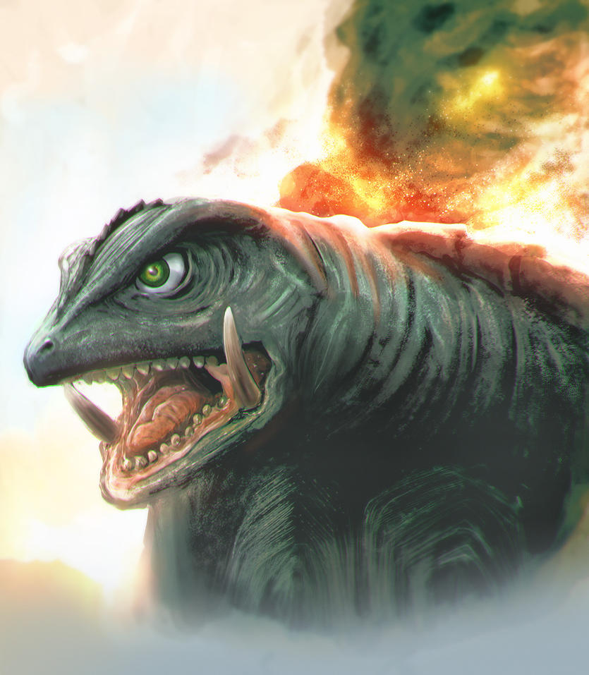 Gamera by punchyninja