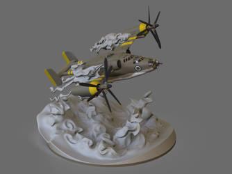 Olive Flight by punchyninja