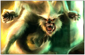 werewolf by punchyninja