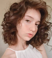 Girl With Curly Hair
